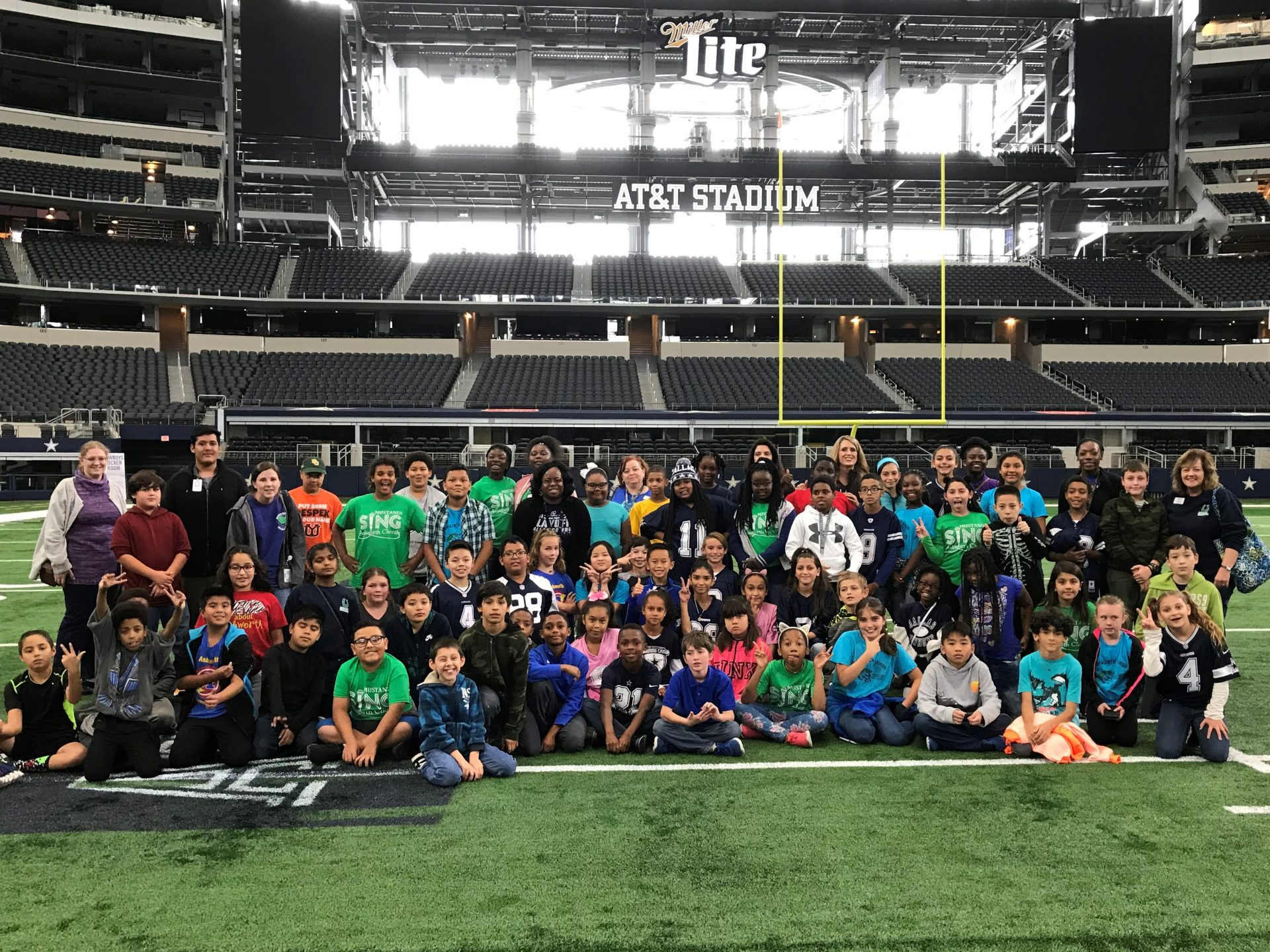 Fifth Grade Goes to AT&T Stadium