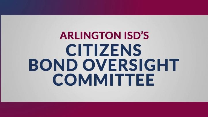 Title image from video about the AISD's Citizens Bond Oversight Committee