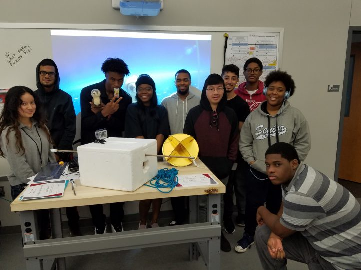 2019 Engineering Design and Development students