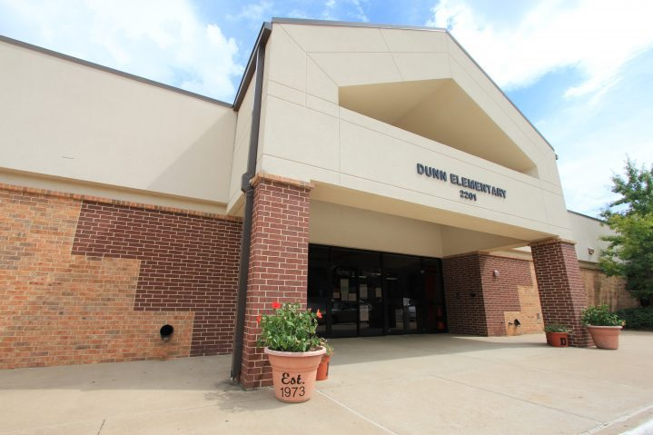 Dunn Elementary front entrance