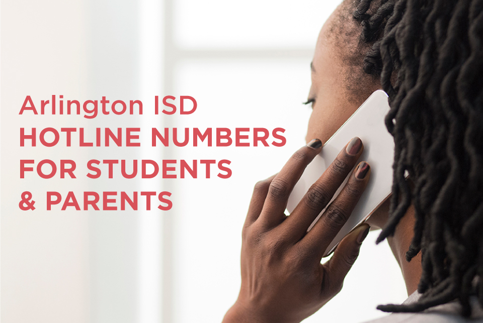 Support hotline for students and parents