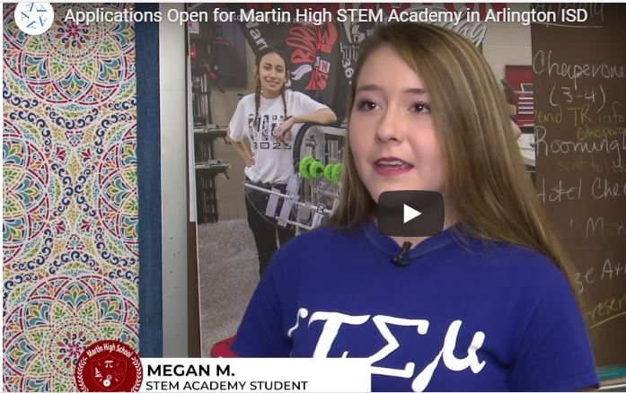 STEM Academy at Martin High School accepting applications in the Arlington ISD