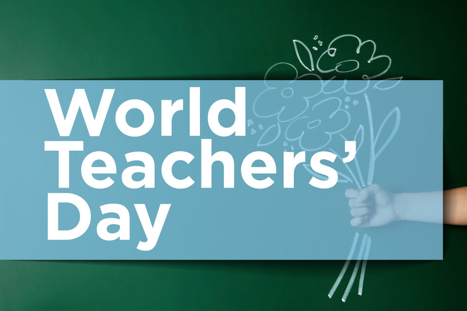 World Teachers' Day blog image