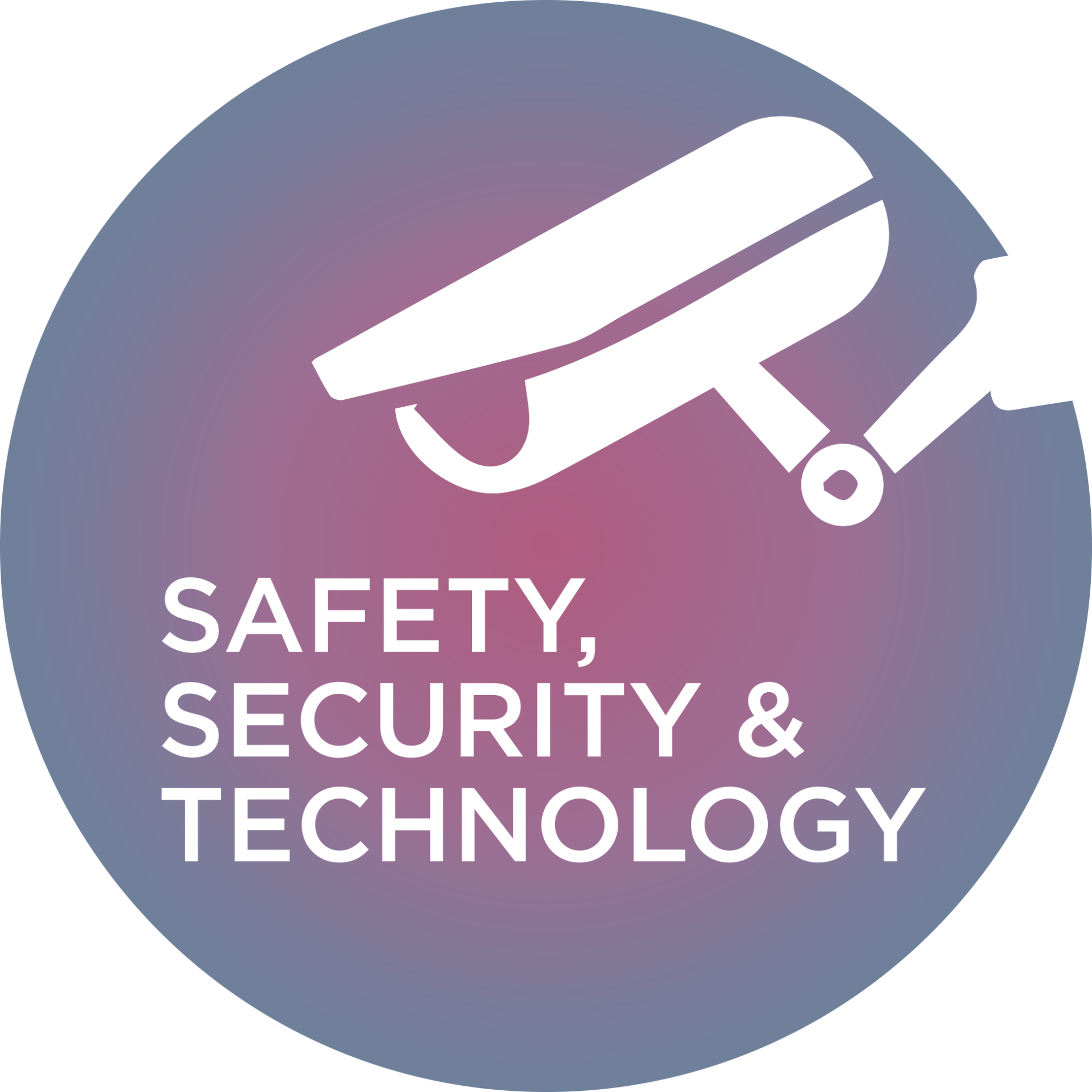 Icon for safety, security and technology